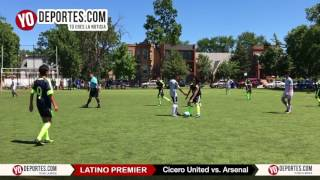 Cicero United vs. Arsenal Latino Premier Academy Soccer League