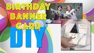 All-Star Designers Winter Series: Birthday Banner Card