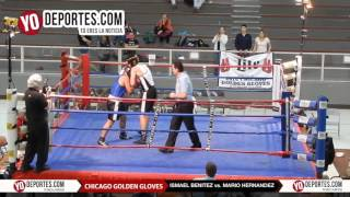 Ismael Benitez vs. Mario Hernandez 178 Lbs Novice Chicago Golden Gloves