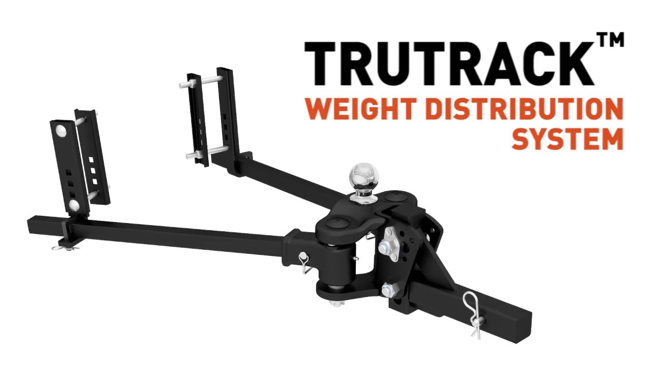 hight resolution of trutrack weight distribution hitch video