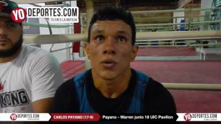 Juan Carlos Payano vs. Rau'shee Warren en Chicago