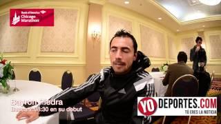 Bayron Piedra de Ecuador apuesta su futuro en Chicago Marathon