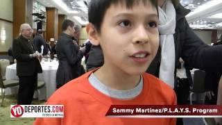 Sammy Martinez PLAYS Program Chicago Fire