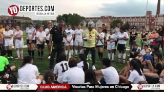 El América Selecciona Jugadoras en las Visorias de Chicago