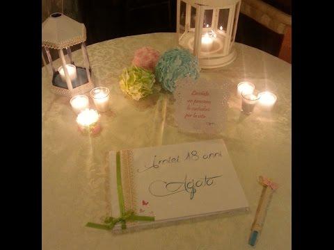 Come decorare la tavola per la festa dei 18 anni  Tutto