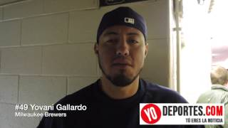 Yovani Gallardo Milwaukee Brewers