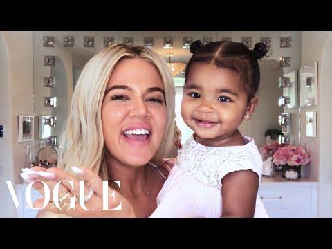 Khloé Kardashian's New Mom Beauty Routine   Beauty Secrets   Vogue