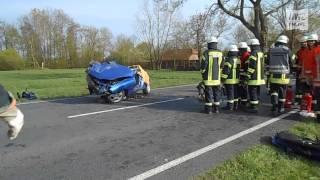 Tödlicher Verkehrsunfall zwischen Elsfleth und Huntebrück