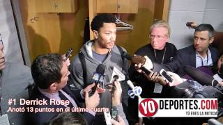 Derrick Rose el verdugo de los Nuggets en el último periodo 106-101