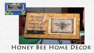 Honey Bee Home Decor