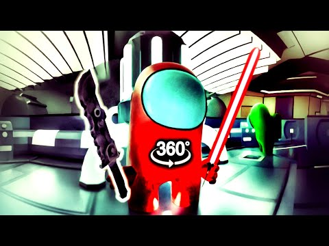 3D AMONG US 360° IMPOSTOR First-Person-View in VR
