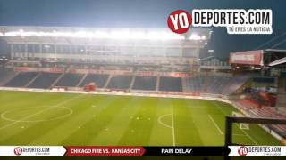 Chicago Fire vs. Sporting Kansas City - Rain Delay