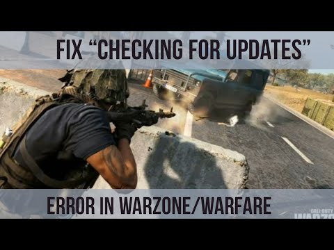 "[PS4] How To Fix ""Checking for Updates"" in Warfare/Warzone"