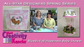 All-Star Designers Spring Series - Bluebird of Happiness Baby Shower (Part 1)