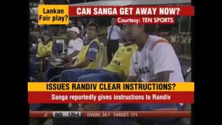 Don\'t call Sanga a cheat! Sanga is not a cheat. Here is the proof