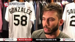 Miguel Gonzalez El Mariachi Medias Blancas vs Orioles de Baltimore