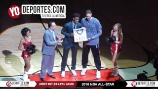 Pau Gasol & Jimmy Butler NBA Allstar 2016