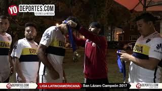 San Lázaro Campeones de la Liga Latinoamericana de los sábados