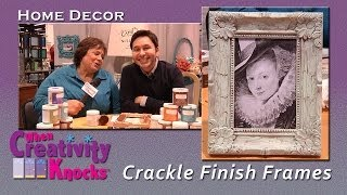 Faux Crackle Frame