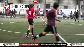 Nightmares vs. Panteras Negras Liga Latinoamericana de Chicago