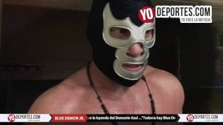 Blue Demon Jr. descarta por ahora un heredero