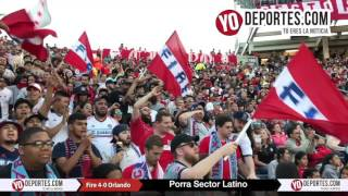 Sector Latino Chicago Fire 4-0 Orlando City