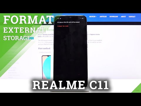 How to Format SD Card in REALME C11 - Restore SD Memory