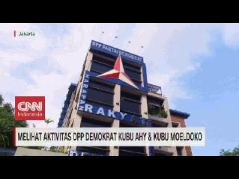 Melihat Aktivitas DPP Demokrat Kubu AHY dan Moeldoko