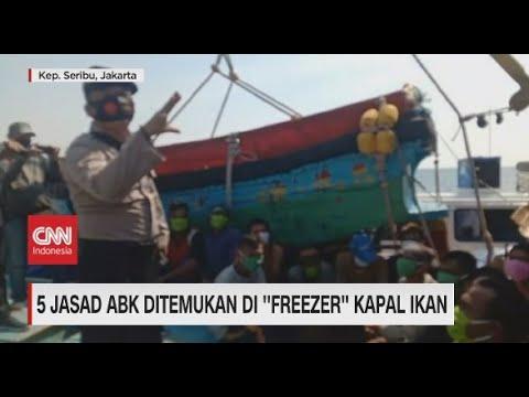 5 Jasad ABK Ditemukan di 'Freezer' Kapal Ikan