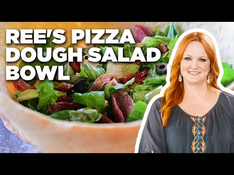 Ree Drummond's Pizza Dough Salad Bowl | The Pioneer Woman | Food Network