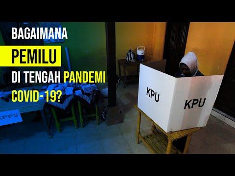 KPU Gelar Pemilu Kepala Daerah di Tengah Pandemi