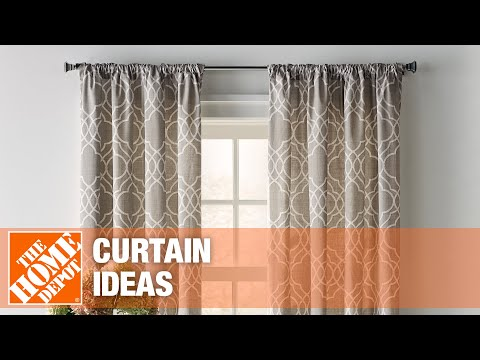 how to measure curtains the home depot