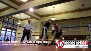David Stevenson vs Mario Rodríguez 95 libras Power Gloves Tournament