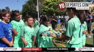Feliz Cumpleaños Melina de Chicago Angels Latino Premier Academy Soccer League