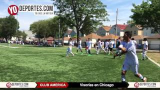 Club América reliza visorías en Chicago