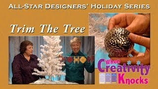 All Star Designers Holiday Series - Trimming the Tree