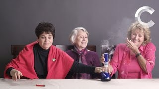 Grandmas Smoking Weed for the First Time