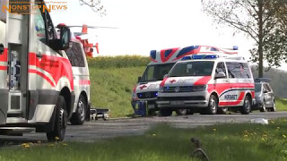 07.05.2017: Horror-Crash auf B 104 bei Teterow: Mercedes kracht gegen Baum - 1 Toter