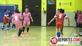 Catrachas vs  San Jerónimo Latin American Soccer League