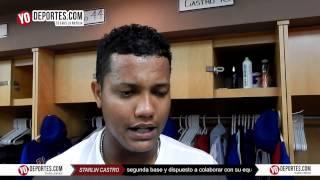 Starlin Castro prueba el sabor de ganarle a White Sox en Crosstown Cup