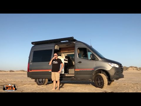 The Ultimate Beach Camping Destination in a Van   Van Life S2:E24