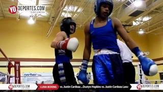 Justin Cardoza vs. Dustyn Hopkins Joliet Luna Boxing