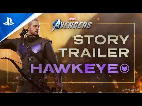 『Marvel's Avengers (アベンジャーズ)』オペレーション:ホークアイ- 不完全な未来 トレーラー