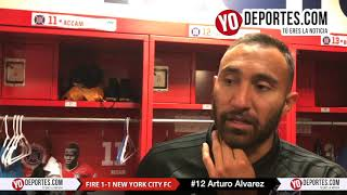 Arturo Alvarez Chicago Fire 1-1 New York City FC
