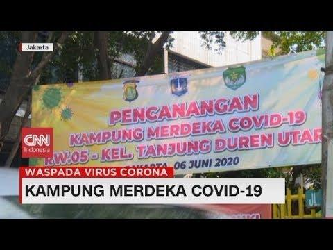 Menengok Kampung Merdeka Covid-19