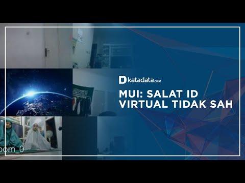 Alasan Shalat Id Virtual Tidak Sah   Katadata Indonesia