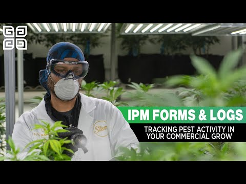 Using Commercial IPM Forms & Logs in your Professional Cannabis Operation