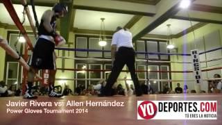 Javier Rivera noquea a Allan Hernandez en Power Gloves Tournament