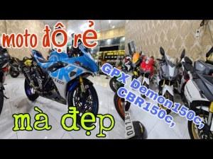 môtô độ Gsx-r150, Rebel300, GZ150, CBR150, Demon150, Thanh lý gấp.Bình Dương| Mỹ Motor