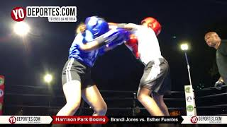 Brandi Jones vs. Esther Fuentes Harrison Park Boxing Show